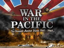 War in the Asia Pacific