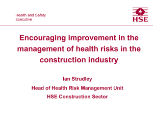 Encouraging improvement in the management of health risks