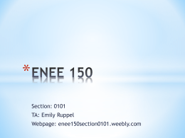 File - ENEE150 Section 0101 - Home