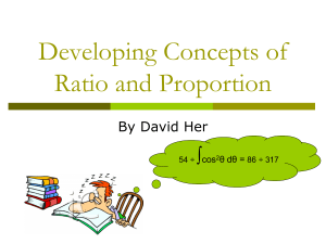 Ratio and Proportion ver 2
