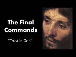 The Final Commands