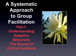 Adaptive Behavior Downloadable Powerpoint