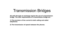 Transmission Bridges