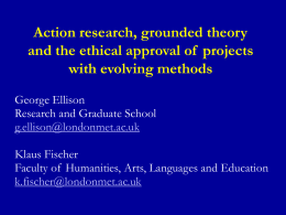 Ethics of research with evolving methods