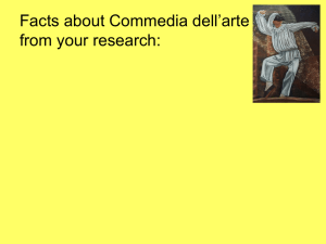Commedia dell`arte v2