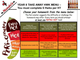 Nandos Take away Homework