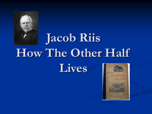 Jacob Riis pictures