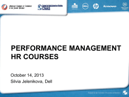 hr courses performance management