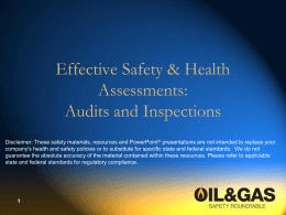 Audits and Inspections - Texas Mutual Insurance Company