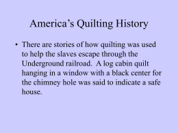 quilts powerpoint