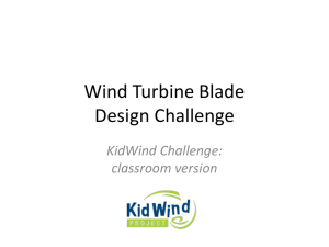 Wind Turbine Design Challenge