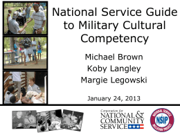 1.24.13 Military Sensitivity Training