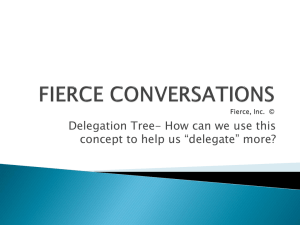 FIERCE CONVERSATIONS Fierce, Inc. ©