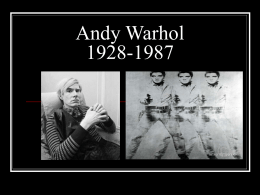 Andy Warhol Powerpoint