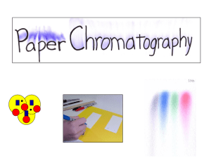 Paper Chromatography-