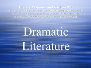 DramaticLiterature