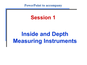 Inside and Depth Measurement - Skilled Trades Math On-line