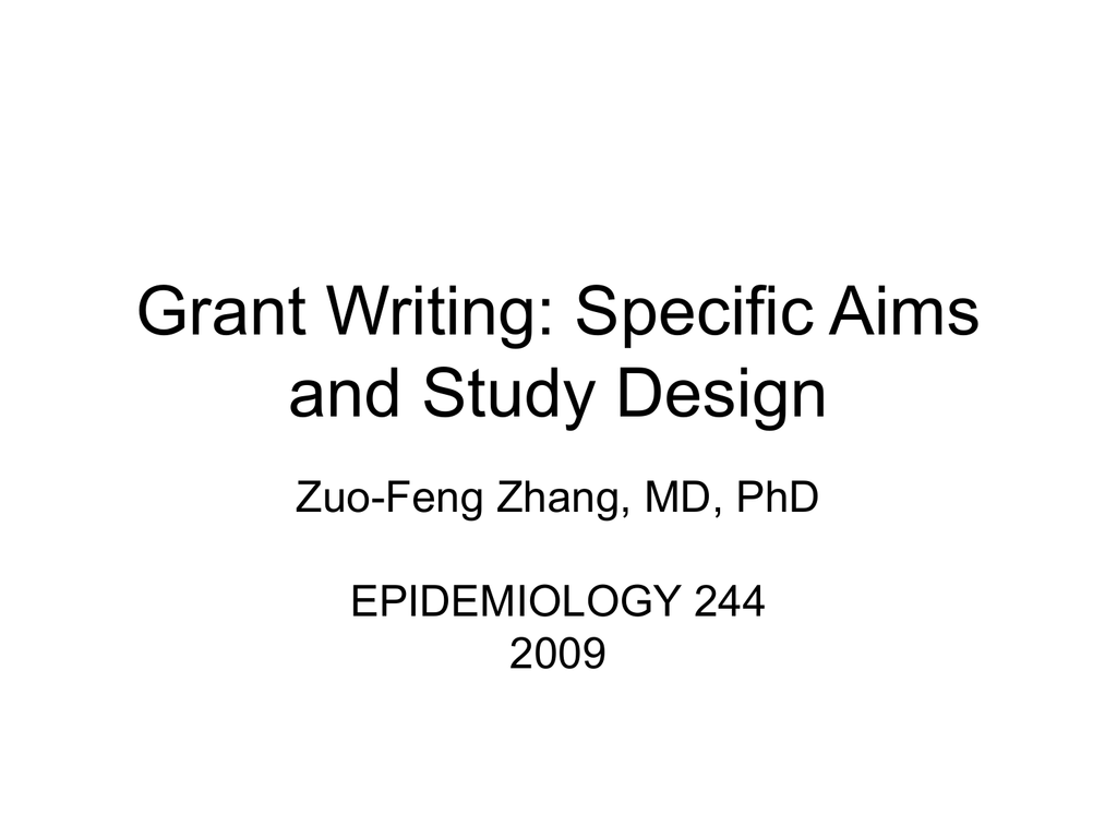 Research aims in grant writing ppt download.