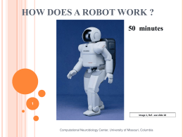 How Does a Robot Work? Presentation