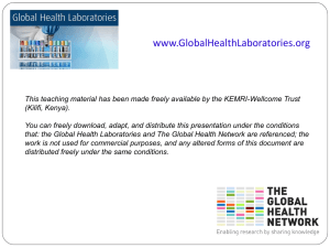good documentation practices - Global Health Laboratories