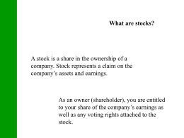 StockMarketBasics