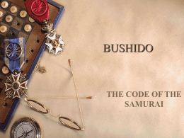 5.2 Code of Bushido