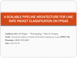 Large-Scale Wire-Speed Packet Classification on FPGAs
