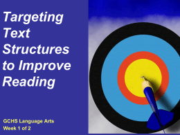 Targeting Text Structure & More: Improving Challenging