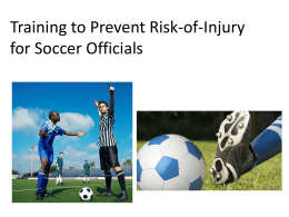 injury prevention presentation