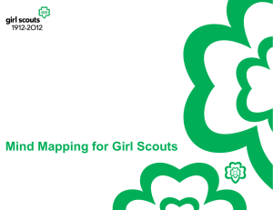 Mind Mapping for Girl Scoutsx