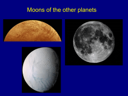Moons of the planets