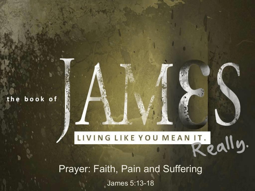Prayer, Faith, Pain and Suffering