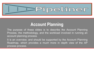 Account Planning Overview - Pipeliner