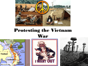 Protesting the Vietnam War (PowerPoint Presentation)