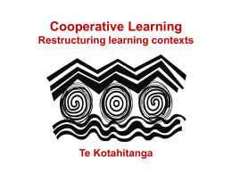 Cooperative Learning edited