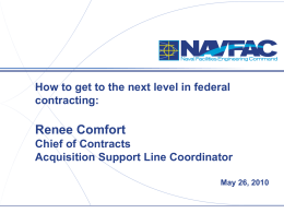 3. Renee Comfort presentation - National Contract Management
