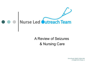 Review of Seizures and Nursing Care