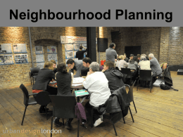 Guide to Neighbourhood Planning