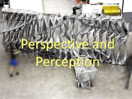 Perception / Perspective ppt - Ms. Fell