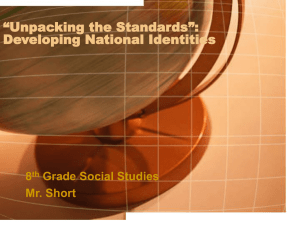 """Unpacking the Standards"""