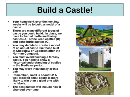 Build a Castle! - I Love History
