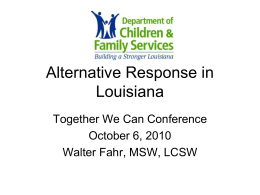 to view the presentation. - Together We Can Conference