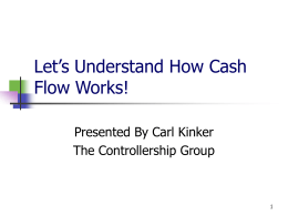 Let`s Understand How Cash Flow Works!
