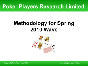 Poker Players Research Limited