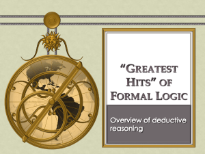 Formal Logic PPT
