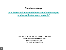 Fundamentals of Nanotechnology - Nanomaterials