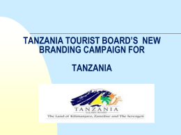 A tourism destination brand is