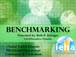 BENCHMARKING - packervalley