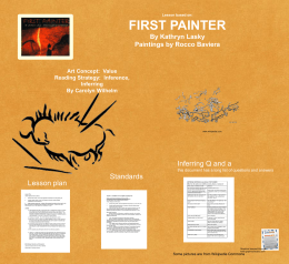 Free First Painter Power Point Presentation