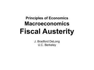 20140414 Fiscal Austerity